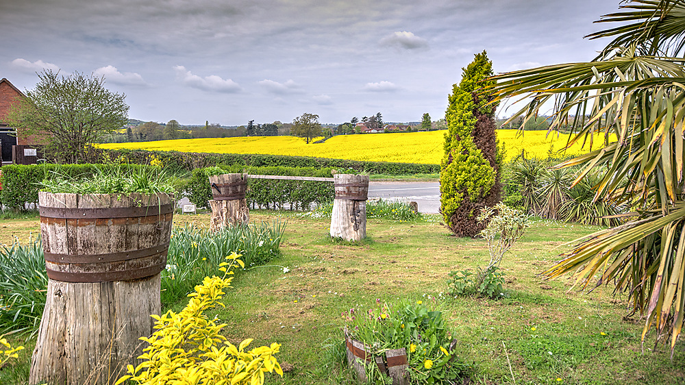 photoblog image A visit to Wichenford