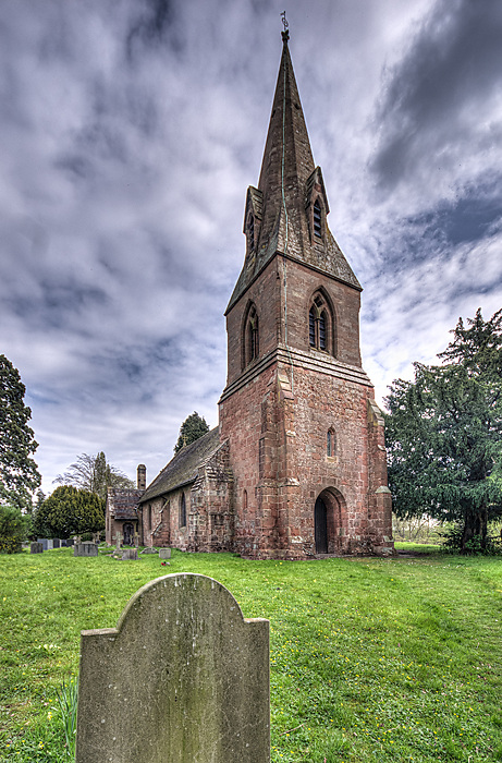 photoblog image St Laurence's Church Wichenford