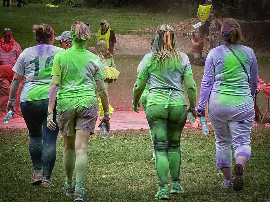 photoblog image Colour run 4