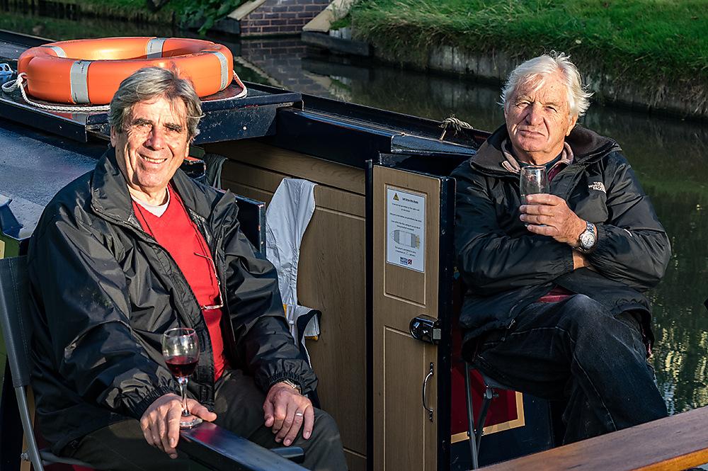 photoblog image Two men in a boat