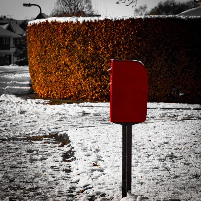 photoblog image Red Letter Day