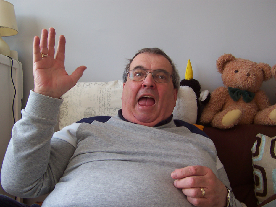 photoblog image Ted takes a flattering pic of Granddad