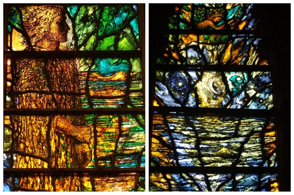 photoblog image Tewkesbury Abbey window 3