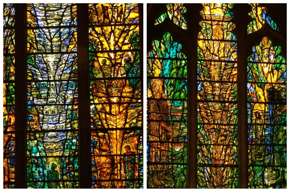 photoblog image Tewkesbury Abbey window 4
