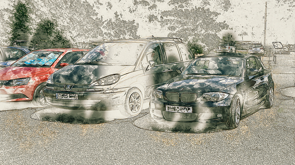 photoblog image Cars Twiddle Friday