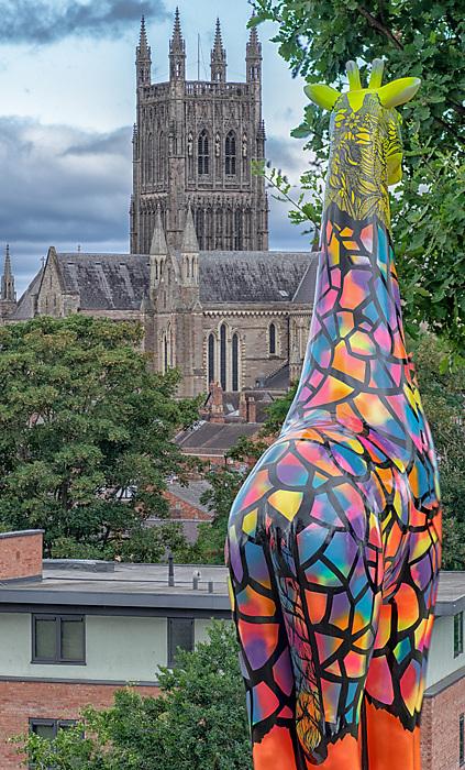 photoblog image Giraffe in fort Royal Park