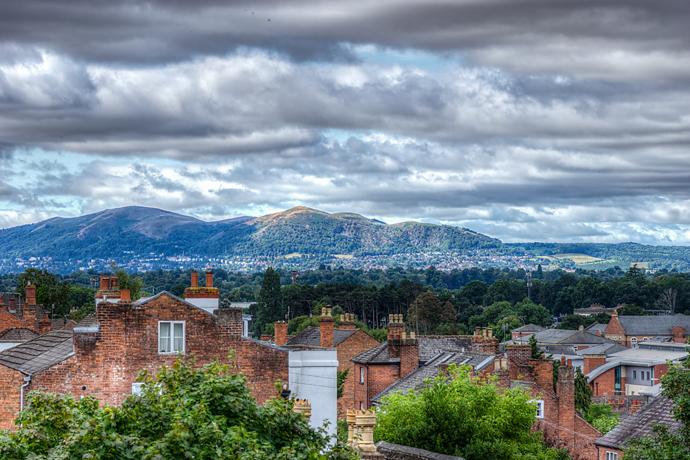 photoblog image The Malvern Hills from Fort Royal Park