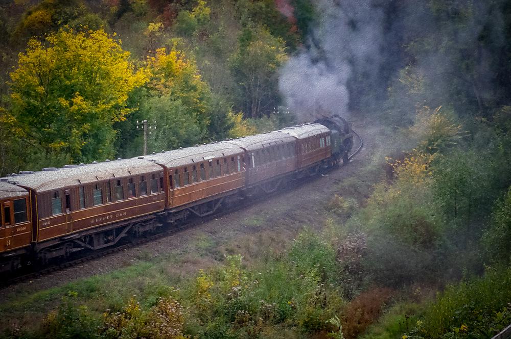photoblog image Chocciebox Train pic