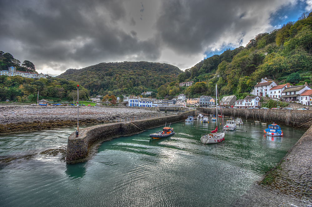 photoblog image Lynmouth....boat Fried egg