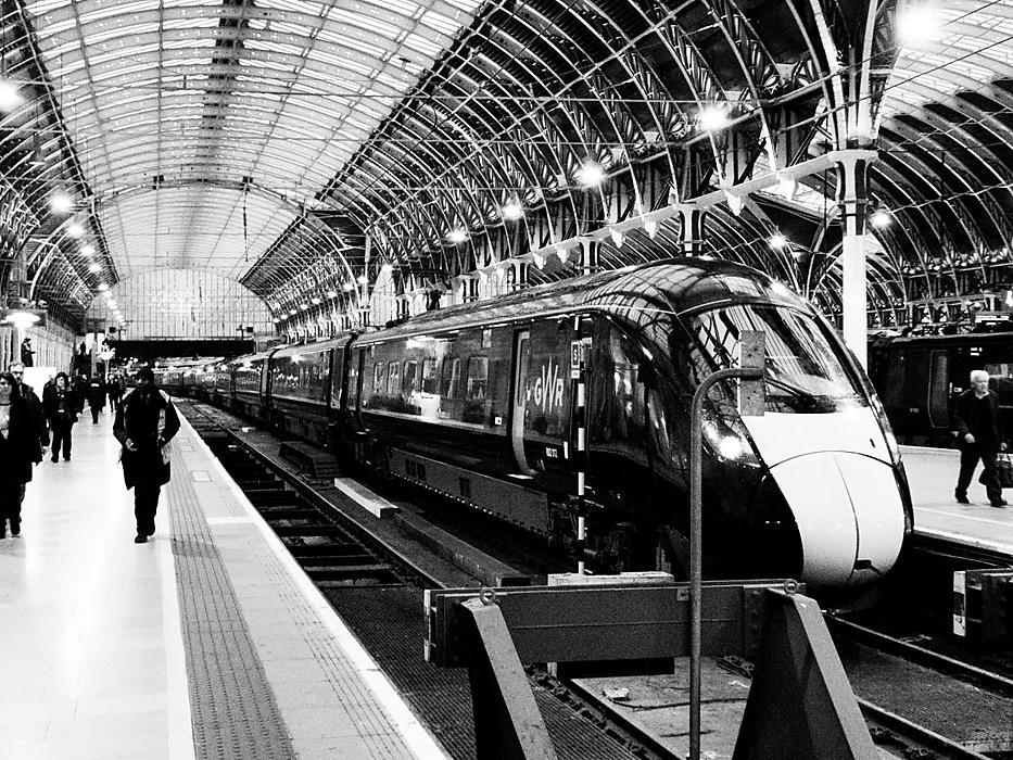 photoblog image Paddington Station