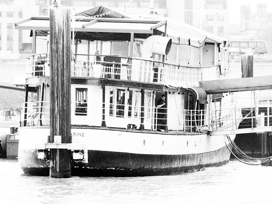 photoblog image Boat? Friday