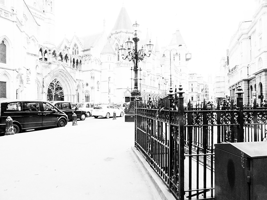 photoblog image The Royal Courts of Justice
