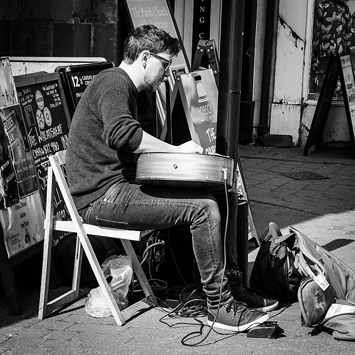 photoblog image Playing the blues