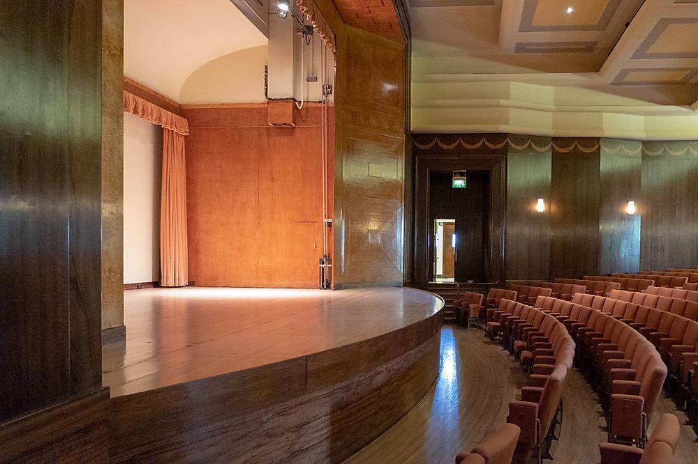 photoblog image The Barber concert Hall