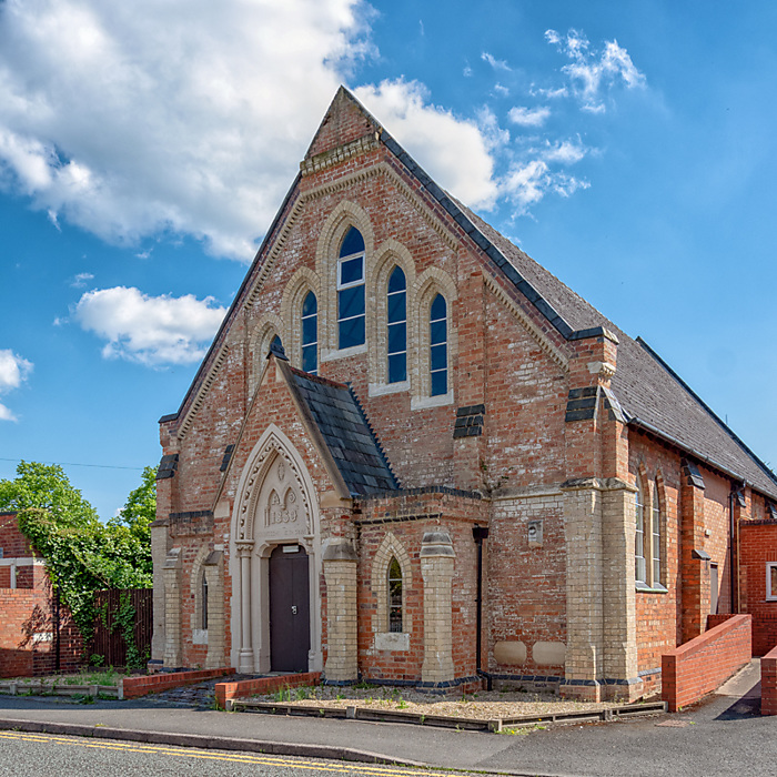 photoblog image Old Wesleyan Chapel Droitwich