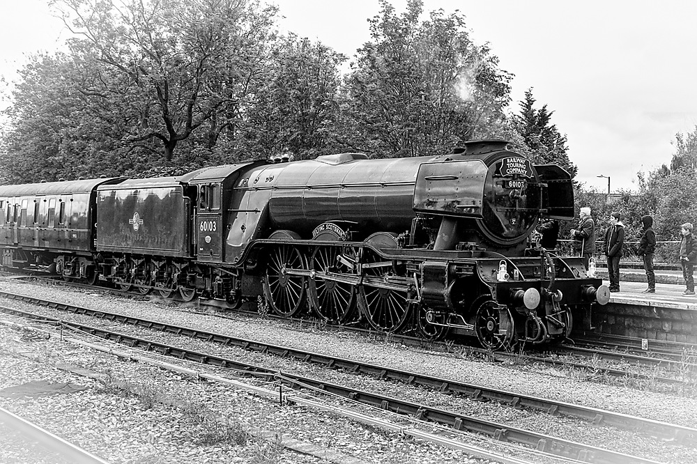 photoblog image Flying Scotsman