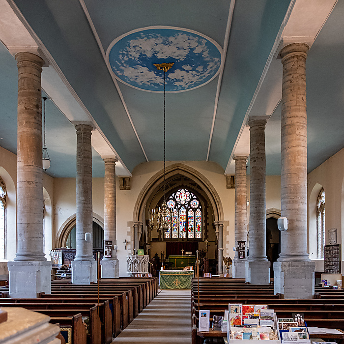 photoblog image Church of St Nicholas Alcester Warwickshire