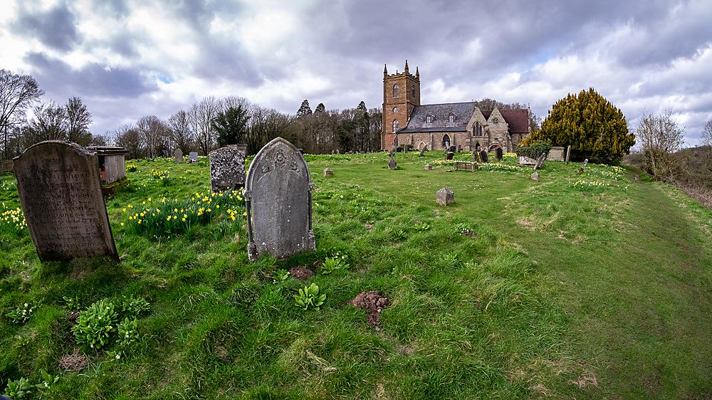 photoblog image Hanbury Church