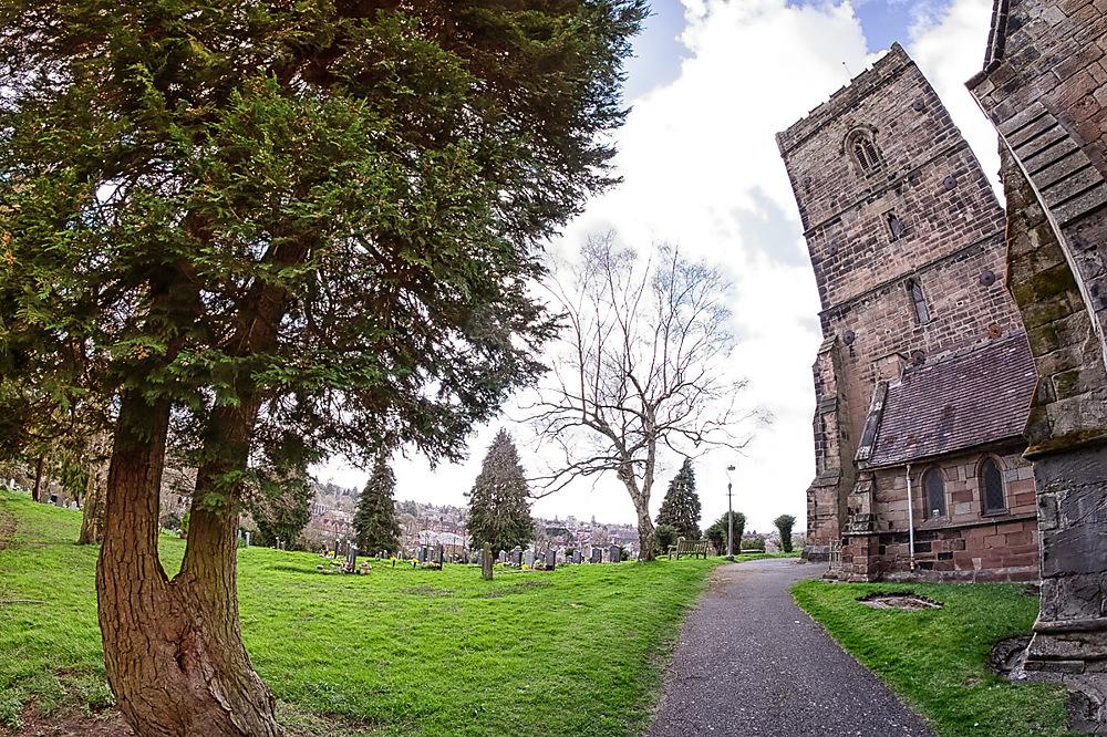 photoblog image Wonky Church