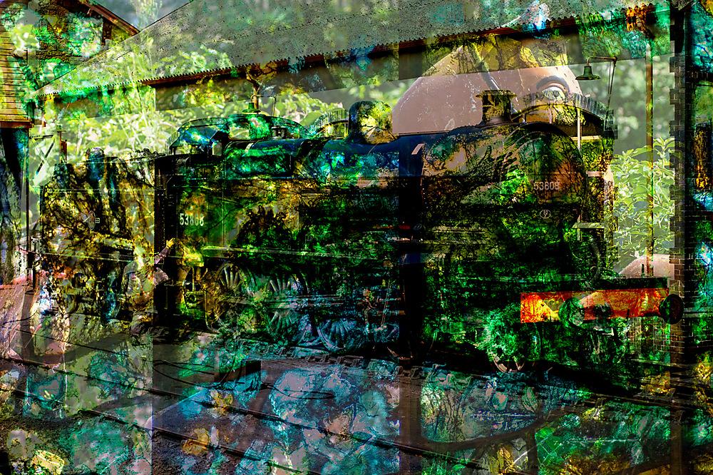 photoblog image Iron horse