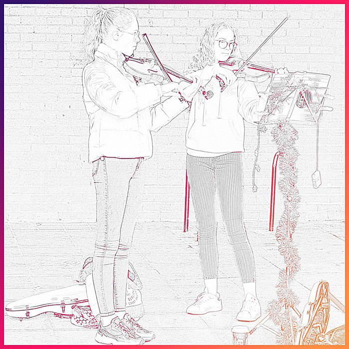 photoblog image On the fiddle