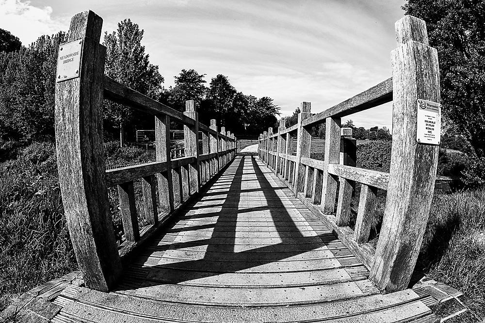 photoblog image Bridge over Barbourne Brook