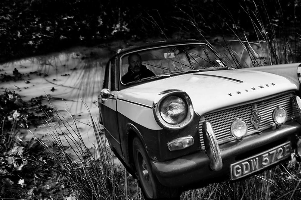 photoblog image Tiff test drives a new car