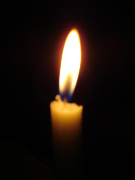 photoblog image my candle light