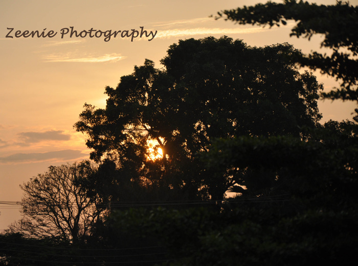 photoblog image beautiful sunset