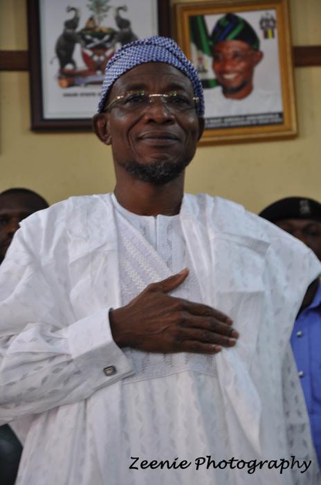 photoblog image The Osun State Governor