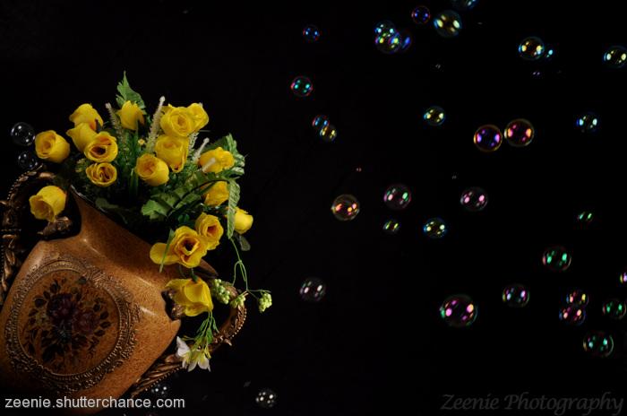 photoblog image power of bubbles